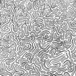 Doodle Hand Drawn Pattern For Coloring Book - Vectorsforall