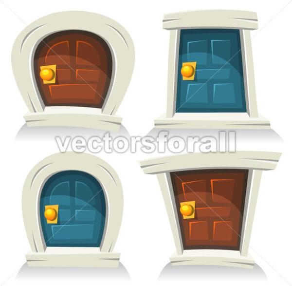 Doors Set - Vectorsforall