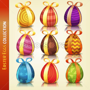 Easter Eggs Collection - Vectorsforall