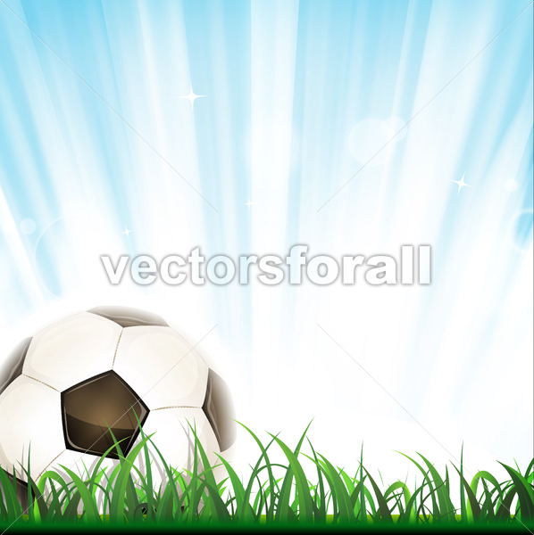 Football Background - Vectorsforall