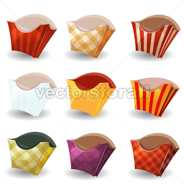 French Fries Box Collection - Vectorsforall