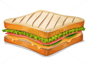 French Sandwich Icon - Vectorsforall