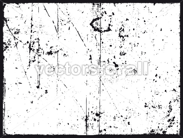 Grunge Texture In Black And White - Vectorsforall