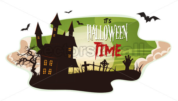 Halloween Smoke Background - Vectorsforall