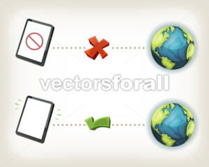 Internet Connexion Icons - Vectorsforall