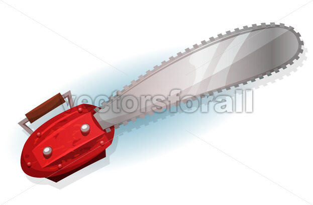 Lumber Chainsaw - Vectorsforall