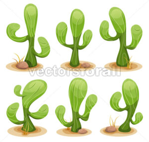 Mexican Cactus Set - Vectorsforall