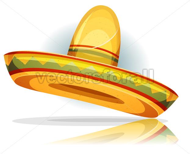 Mexican Sombrero - Vectorsforall