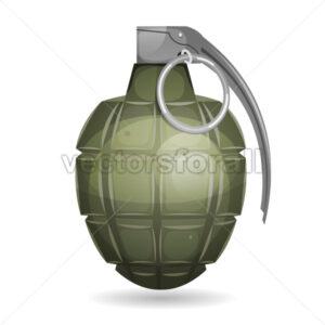 Military Grenade - Vectorsforall