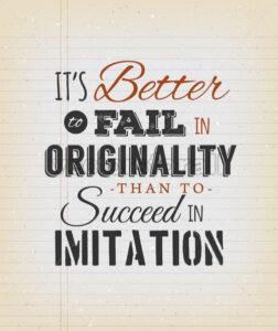 Motivational Quote On Vintage School Paper - Vectorsforall