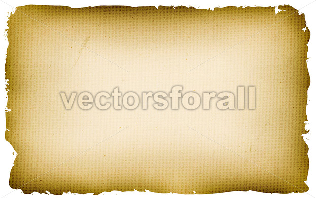 Old Textured Parchment Background - Vectorsforall