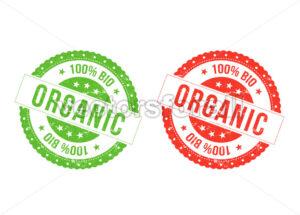 Organic Bio Seals - Vectorsforall