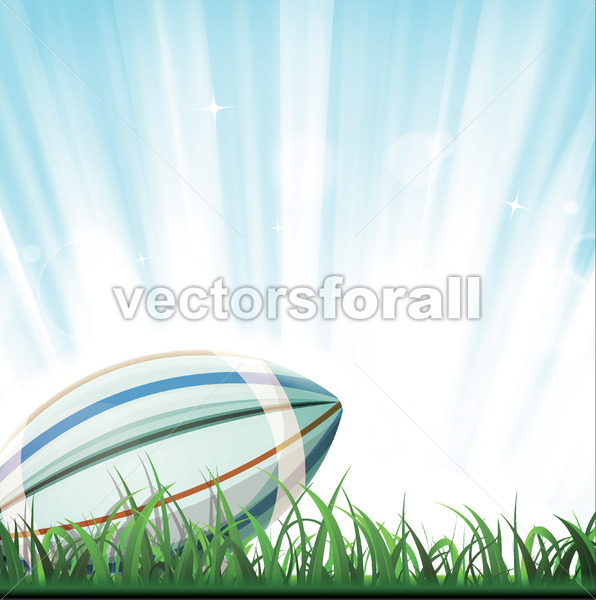 Rubgy Sport Background - Vectorsforall