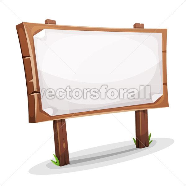Rural Wood Sign - Vectorsforall