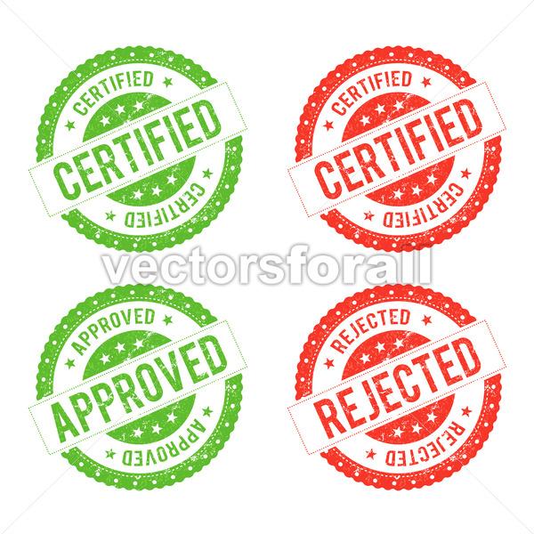 Seal Certificate - Vectorsforall