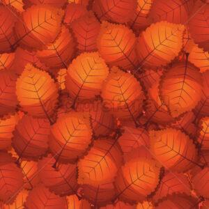 Seamless Autumn Tree Leaves - Vectorsforall