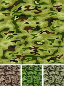 Seamless Military And Hunting Camo - Vectorsforall