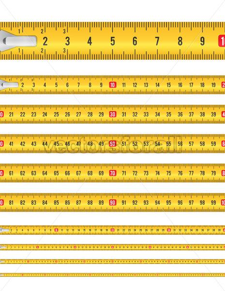 Seamless Tape Measure - Vectorsforall