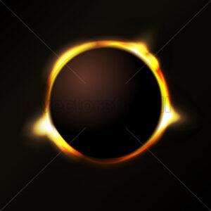 Solar Eclipse Background - Vectorsforall