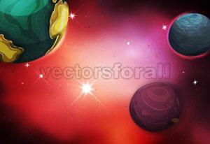 Space Background - Vectorsforall