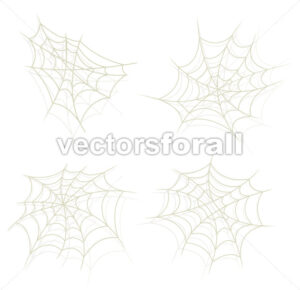 Spider Web Set - Vectorsforall