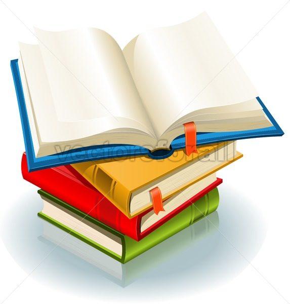 Stack Of Books - Vectorsforall