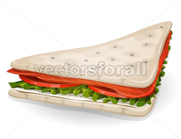 Swedish Sandwich Icon - Vectorsforall