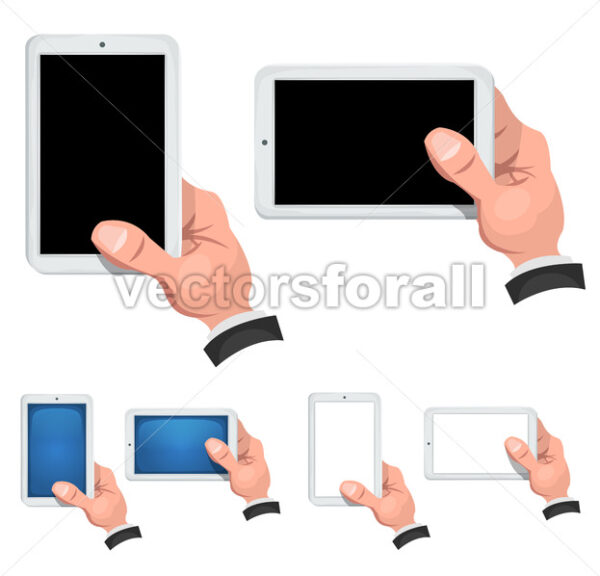 Taking A Selfie Photo With Smart Phone - Vectorsforall