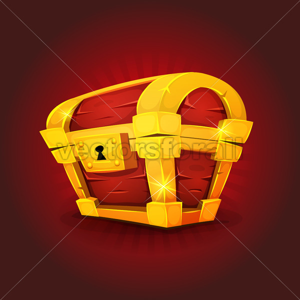 Treasure Chest Icon For Game Ui - Vectorsforall