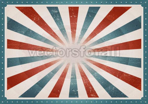 Vintage American Background - Vectorsforall
