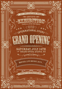 Vintage Invitation Background - Vectorsforall