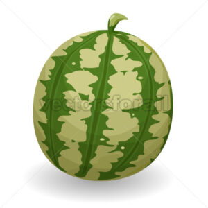 Watermelon - Vectorsforall