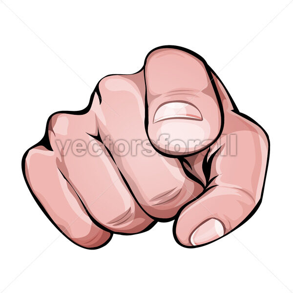 We Want You Pointing Finger Icon - Vectorsforall