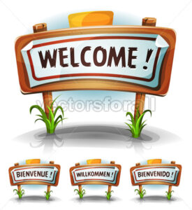 Welcome Farm Or Country Sign - Vectorsforall