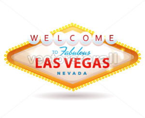 Welcome To Fabulous Las Vegas Sign - Vectorsforall
