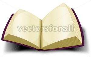 cartoon-opened-big-book-icon.eps - Vectorsforall