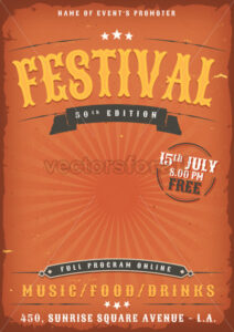 vintage-grunge-festival-western-style - Vectorsforall
