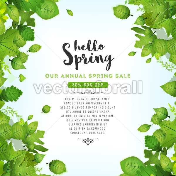 Our Annual Spring Sale - Vectorsforall