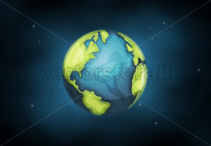 Earth Planet Background - Vectorsforall