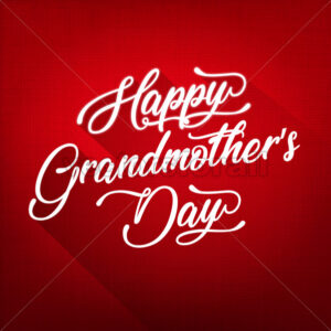 Happy Grandmother's Day Background - Vectorsforall