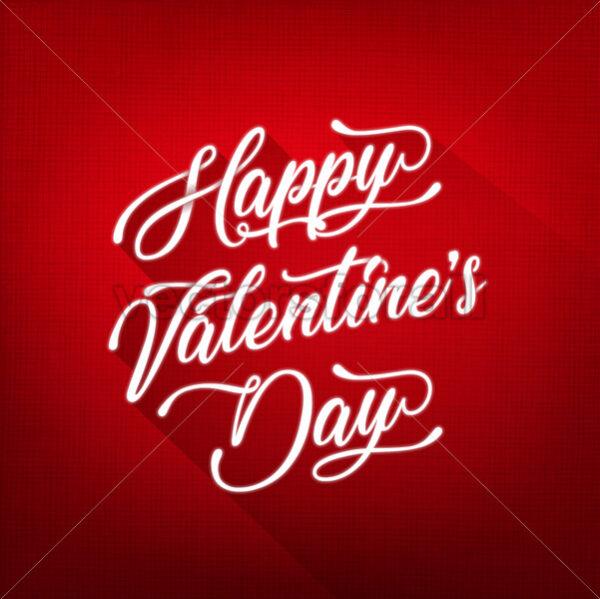 Happy Valentine's Day Background - Vectorsforall