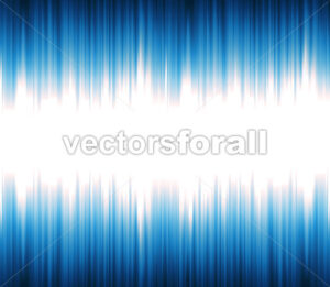 Abstract Sound Or Light Wave Oscillating - Vectorsforall
