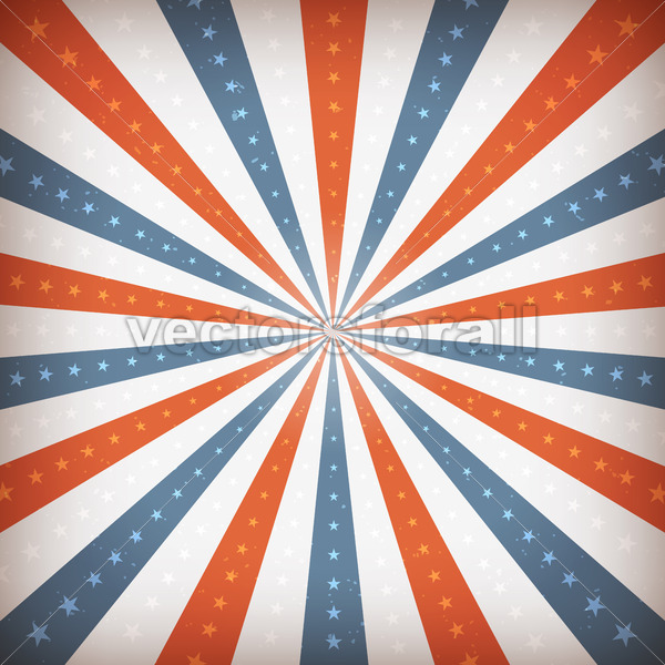 American Fourth Of July Background - Vectorsforall
