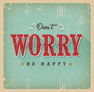 Don't Worry Be Happy Card - Vectorsforall