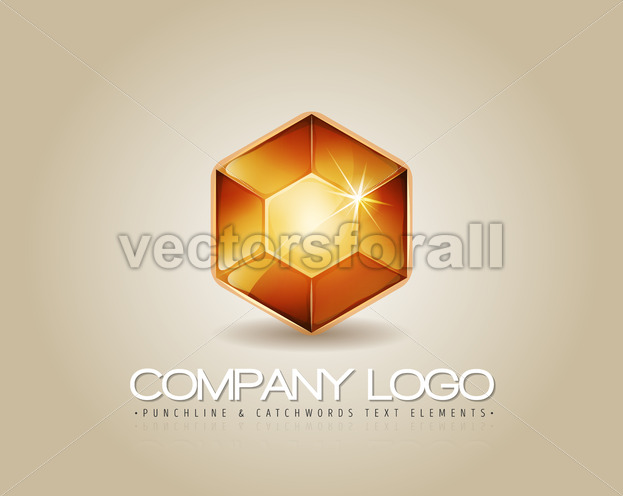 Gem Logo For Luxury Company - Vectorsforall