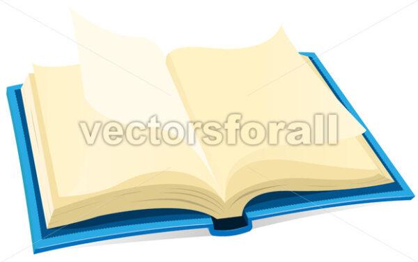Open Book Icon - Vectorsforall