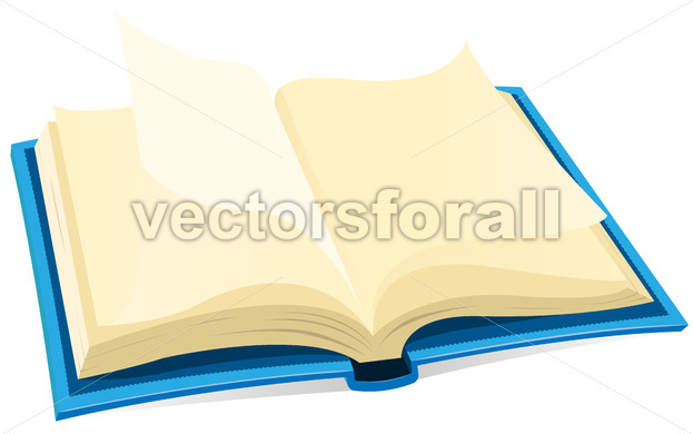 Open Book Icon - Vectorsforall