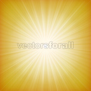 Summer Sun Starburst Background - Vectorsforall