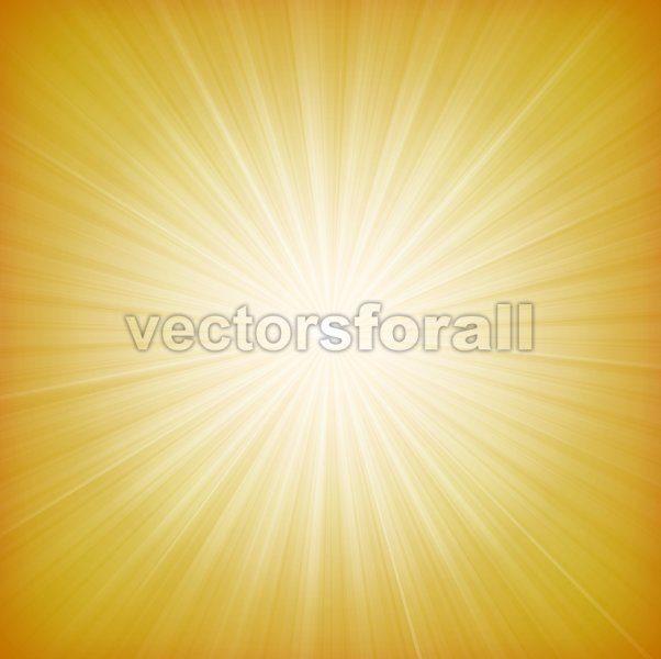 Summer Sun Starburst Background - Vectorsforall