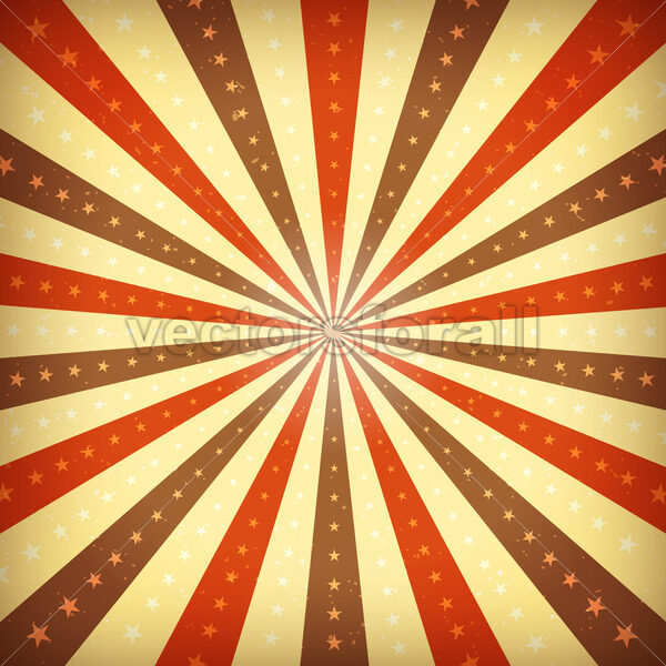 Vintage Abstract Sunbeams Background - Vectorsforall
